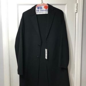 NEW - Zara Man Tailored Coat (Black)